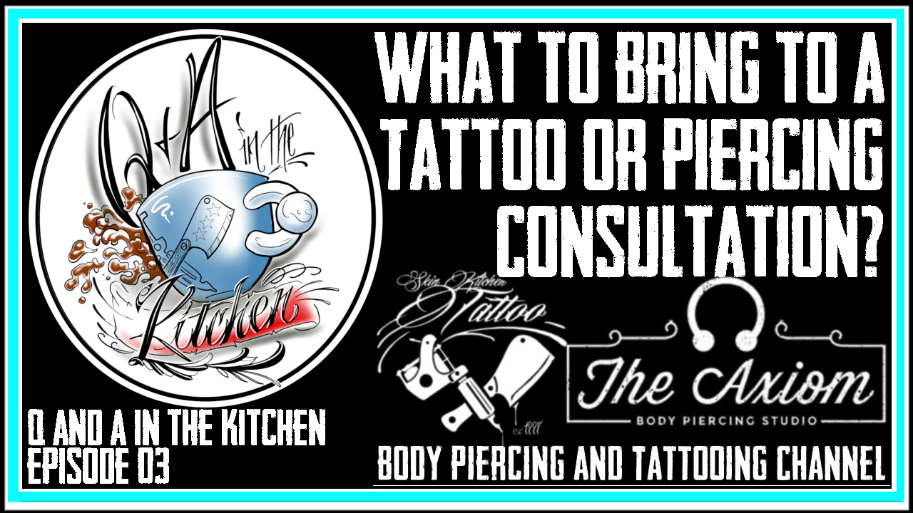 How to Prepare for a Tattoo Consultation - Q&A In the Kitchen Ep 03