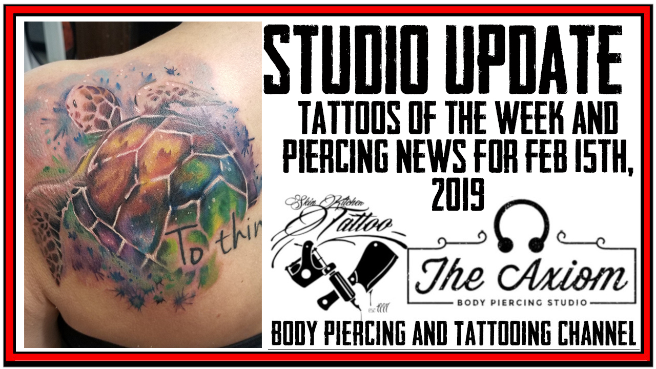 Tattoos of the Week from Jack and Westley and Piercing News for Feb 15th, 2019