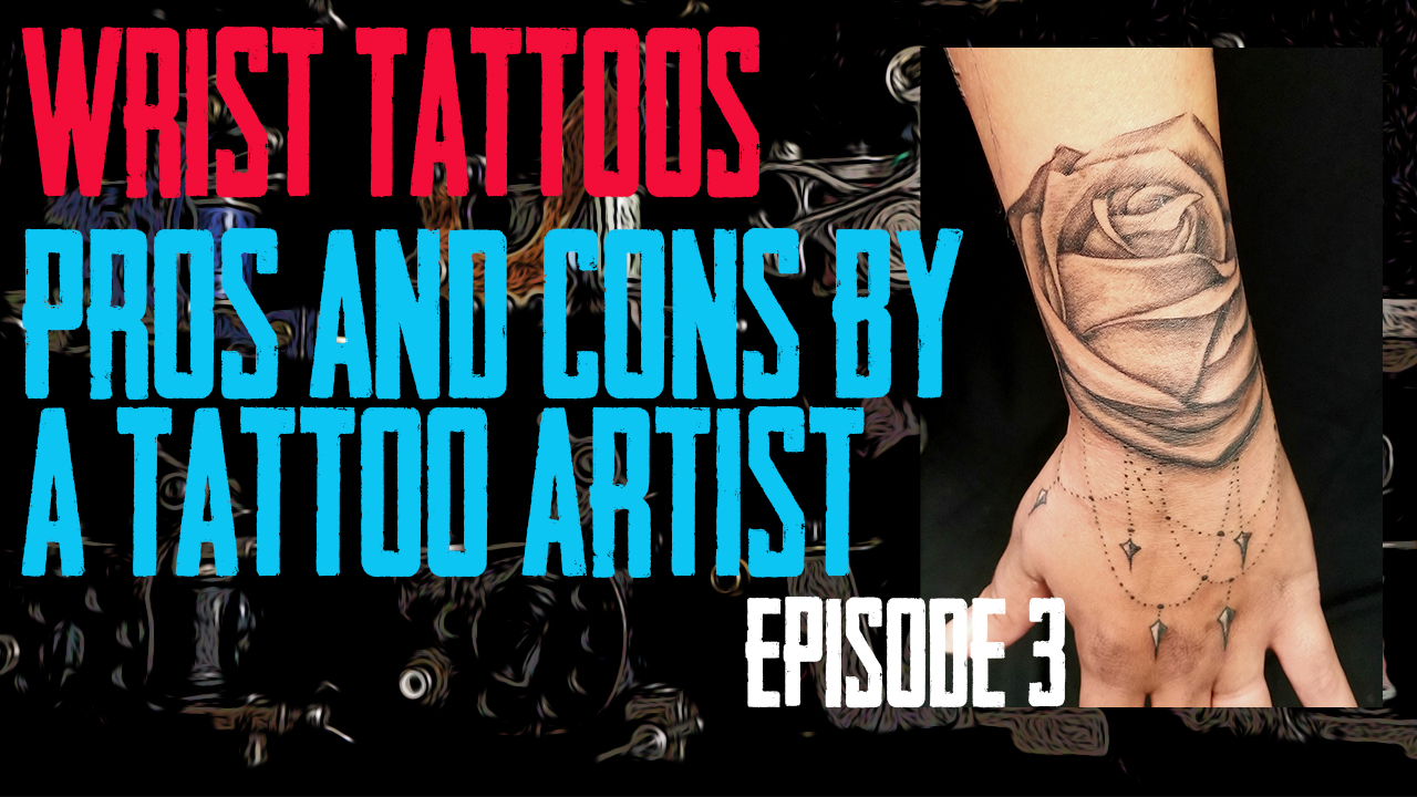 Westley Dickerson of Skin Kitchen Tattoo covers the Pros & Cons of Wrist Tattoos - https://youtu.be/EtxLT41RH4Y