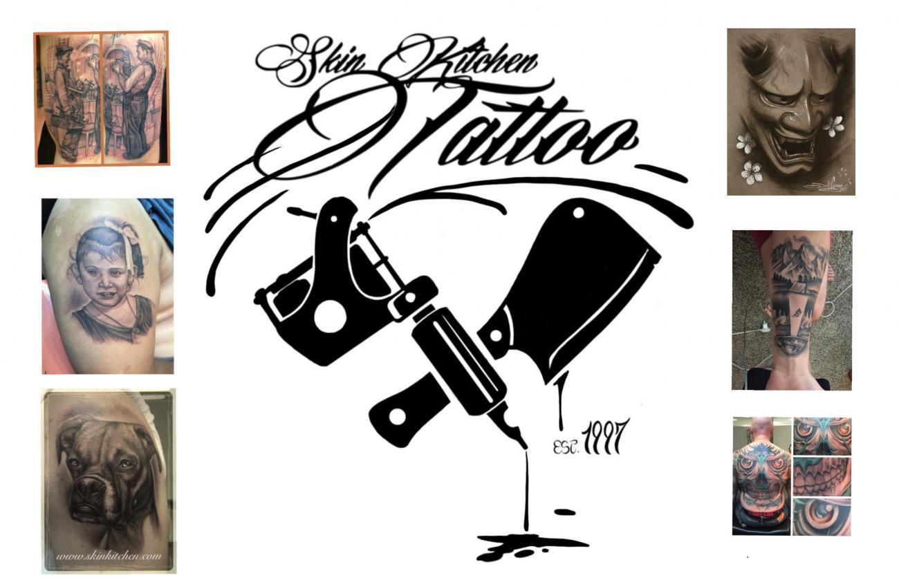 Home Skin Kitchen Tattoo