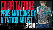 Jack covers the Pros and Cons of getting a Colored Tattoo - Pros & Cons by a Tattoo Artist EP 07 - https://youtu.be/8tQ2IDjjOpI