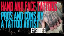 Westley Dickerson of Skin Kitchen Tattoo covers the Pros & Cons of getting Face, Neck and Hand Tattoos in Episode 8 https://youtu.be/SVd_4QumgC8