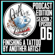 Fishing Another Artist Tattoo Podcast Edition - Q&A in the Kitchen S02 EP06