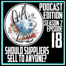 Should Tattoo & Piercing Suppliers Sell to Anyone? Q&A in the Kitchen Podcast S02 EP18
