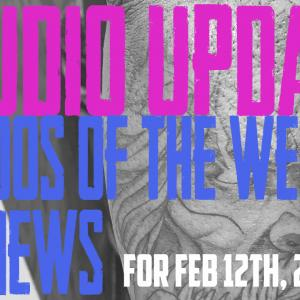 Tattoos of the Week, Piercing & Content News - Studio Update #131 - Feb 12, 2021 - https://youtu.be/w_saPit6yE8