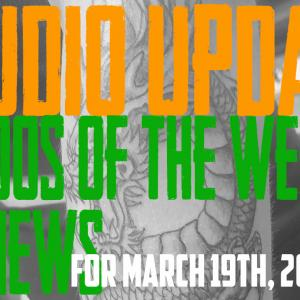 Studio Update #135 -Tattoos of the Week, Piercing & Content News - March 19th, 2021 - https://youtu.be/11hAHXOu72o